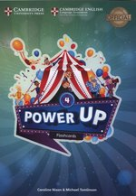 pomoce naukowe: Power Up Level 4 Flashcards (Pack of 185) – zabawka
