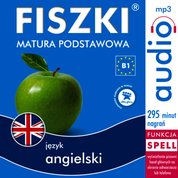 : FISZKI audio - j. angielski - Matura podstawowa - audiobook