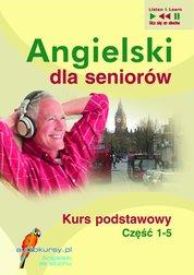 : Angielski dla seniorów - audiokurs + ebook